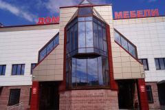 Здание Дом мебели в г.Бресте 1