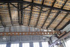 Монтаж и реконструкция металлической кровли склада 1