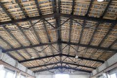 Монтаж и реконструкция металлической кровли склада 2
