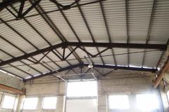 Монтаж и реконструкция металлической кровли склада 3