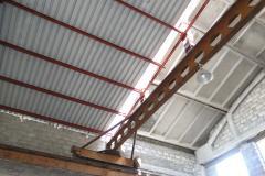 Монтаж и реконструкция металлической кровли склада 4