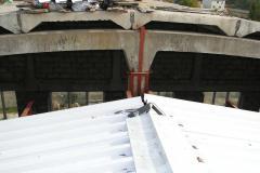 Монтаж и реконструкция металлической кровли склада 6