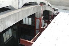 Монтаж и реконструкция металлической кровли склада 7